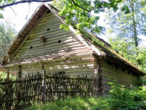 Latvian timber house